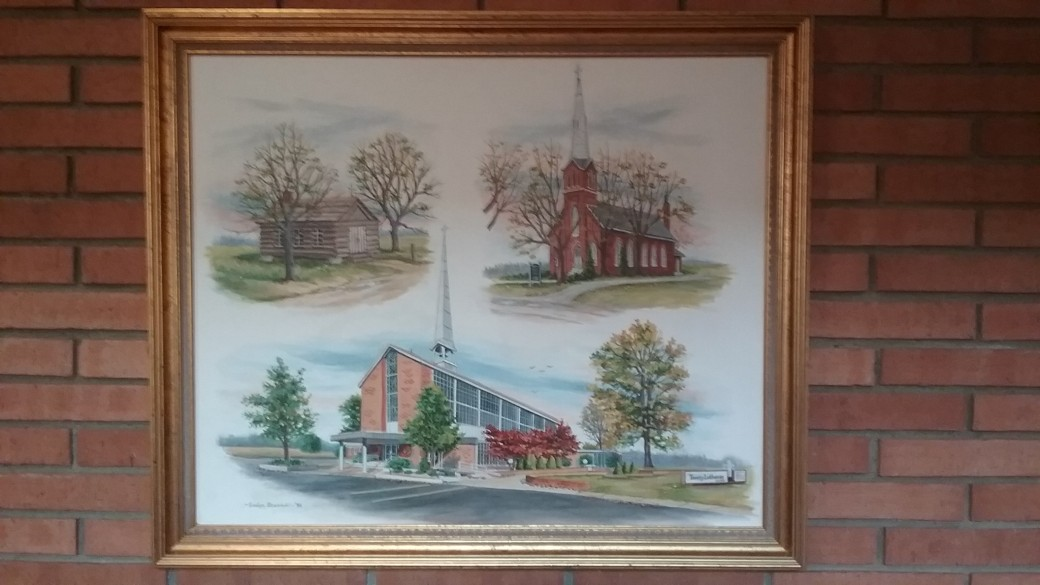 church painting