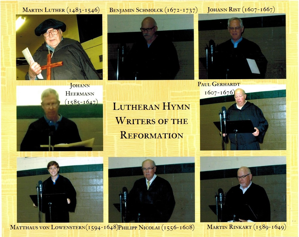 Lutheran hymn writers of the Reformation