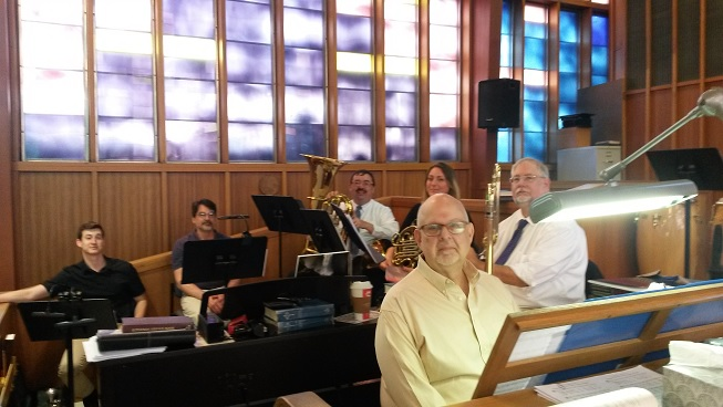 Organist and Brass