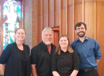 Percussionists - Jennifer Bollard, David King, Devyn Haas, Ross Erickson