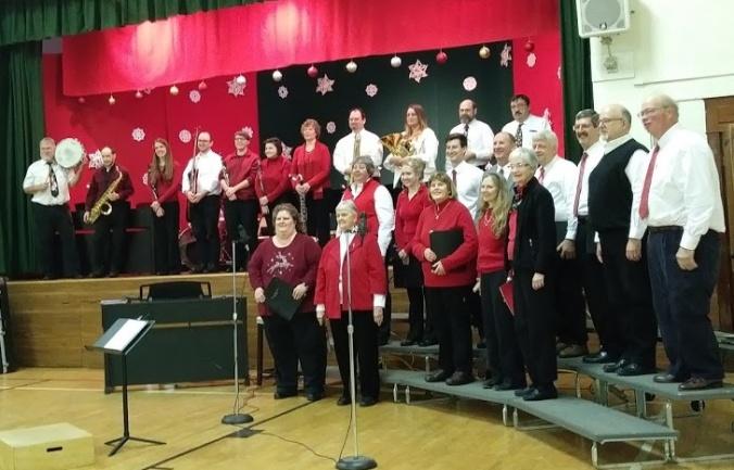 choir & instruments -angled
