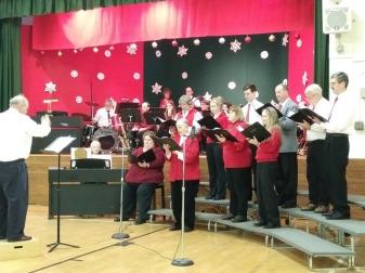 choir LR singing