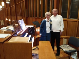 david & louise rohy by organ